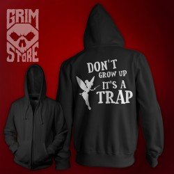 Don't grow up - thin hoodie