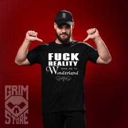Fuck reality - koszulka