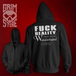 Fuck reality - thin hoodie