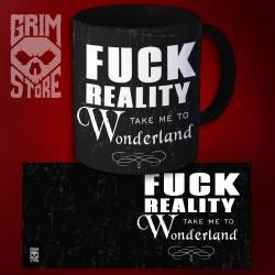 Fuck reality - mug 330 ml