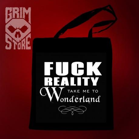 Fuck reality - eco bag