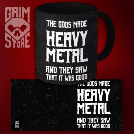 Gods made Heavy Metal - mug 330 ml
