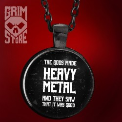 Gods made Heavy Metal - biżuteria