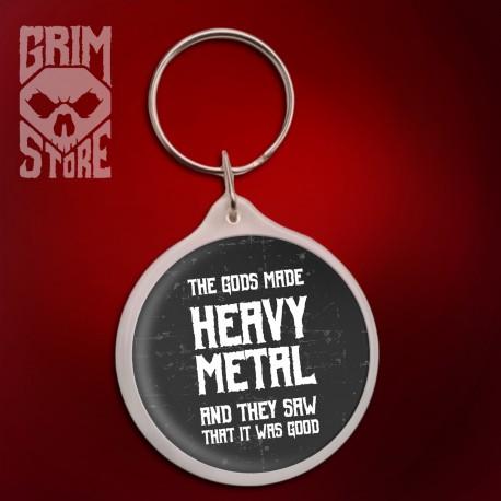 Gods made Heavy Metal - pendant