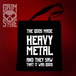 Gods made Heavy Metal - eco bag