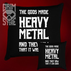Gods made Heavy Metal - pillow
