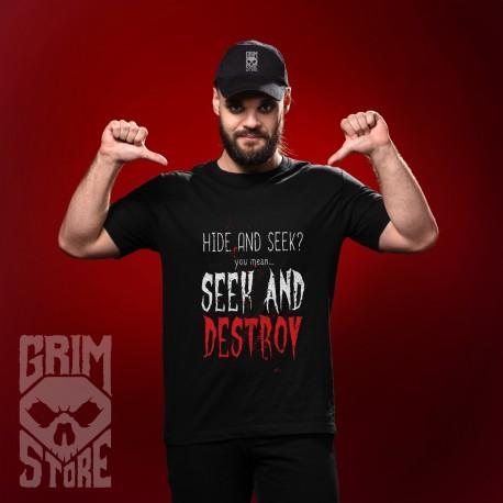 Seek and Destroy - teeshirt