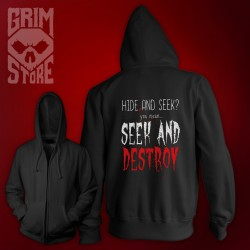 Seek and Destroy - thin hoodie