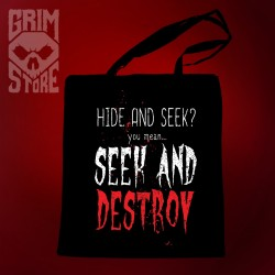 Seek and Destroy - eco bag