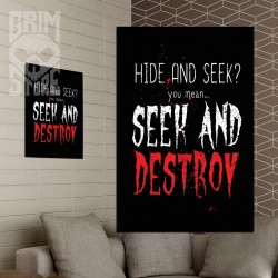 Seek and Destroy - poster