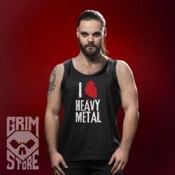 I love Heavy Metal - koszulka bez rękawów
