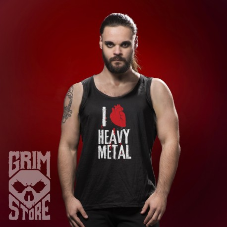 I love Heavy Metal - sleeveless shirt