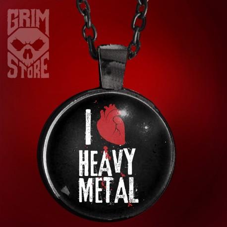 I love Heavy Metal - biżuteria