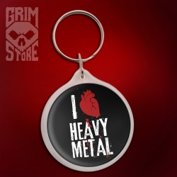 I love Heavy Metal - brelok