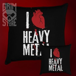 I love Heavy Metal - pillow