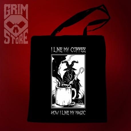 I like my coffee - eco bag