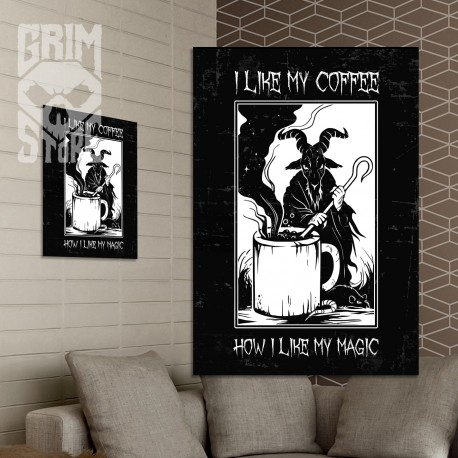 I like my coffee - poster
