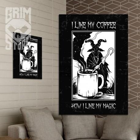 I like my coffee - plakat