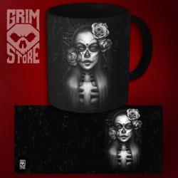 Lady Los Muertos - mug 330 ml
