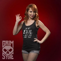 I'm not Evil - sleeveless shirt