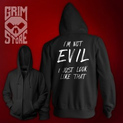 I'm not Evil - thin hoodie