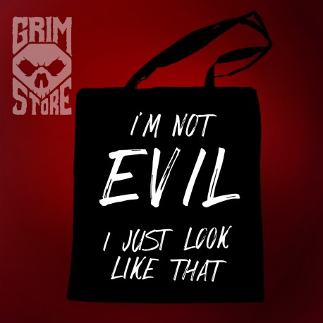 I'm not Evil - eco bag
