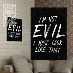 I'm not Evil - poster