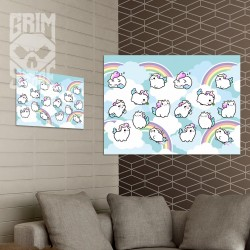 Cute Unicorns - poster