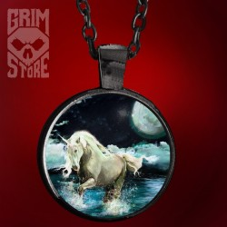 Unicorn in the lake - jewellery