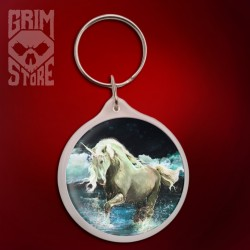 Unicorn in the lake - pendant