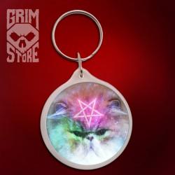 Pentagram Cat - pendant