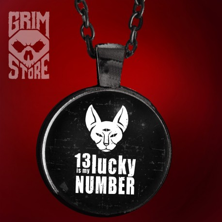 13 is My lucky number - jewellery