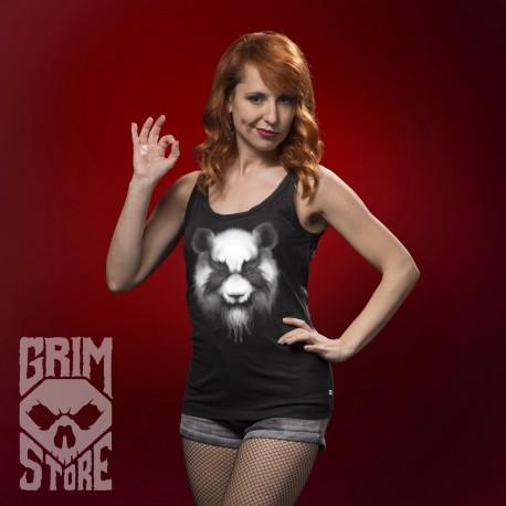 Heavy Metal Panda - koszulka bez rękawów