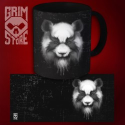Heavy Metal Panda - mug 330 ml