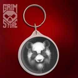 Heavy Metal Panda - pendant