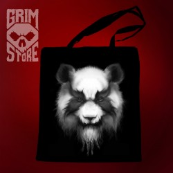 Heavy Metal Panda - eco bag