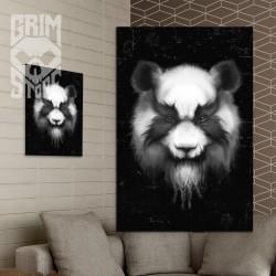 Heavy Metal Panda - plakat