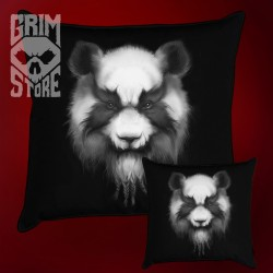 Heavy Metal Panda - pillow