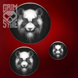 Heavy Metal Panda - pin