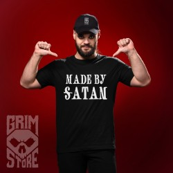 Made by Satan - teeshirt