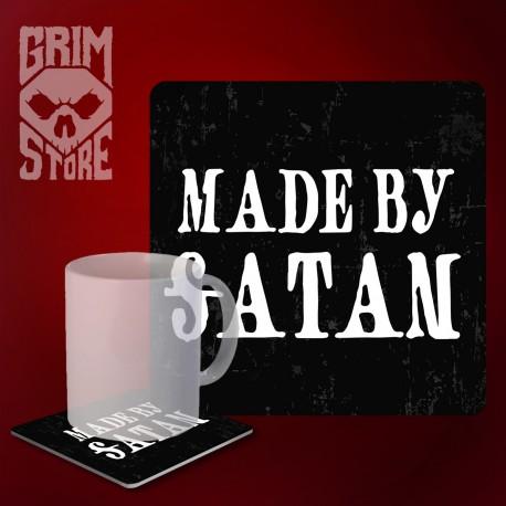 Made by Satan - podstawka pod kubek
