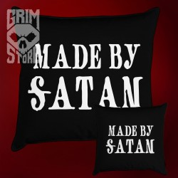 Made by Satan - pillow