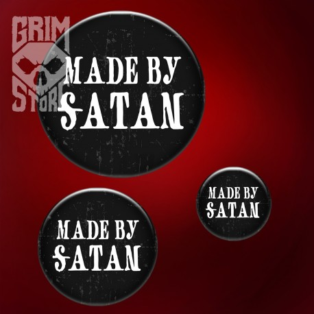 Made by Satan - pin