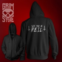 See You in HELL - thin hoodie