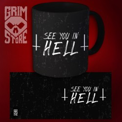 See You in HELL - kubek 330 ml