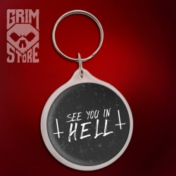 See You in HELL - brelok