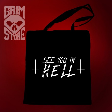 See You in HELL - eco bag