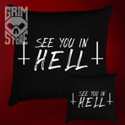 See You in HELL - pillow
