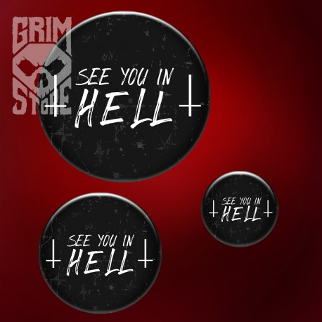 See You in HELL - pin