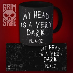 My head is a very dark place - mug 330 ml